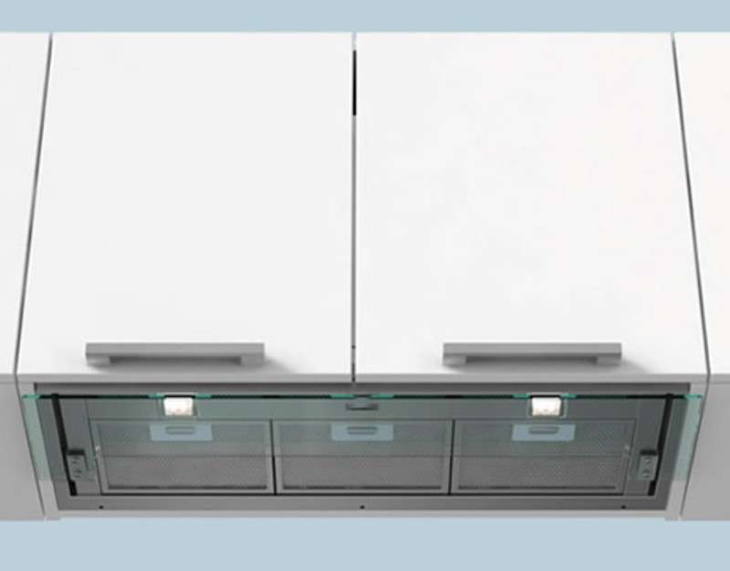 Campana integrada falmec slide design60 inox pachecocinas - Campana extractora integrada ...